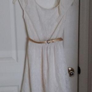 Ivory lace Mudd dress